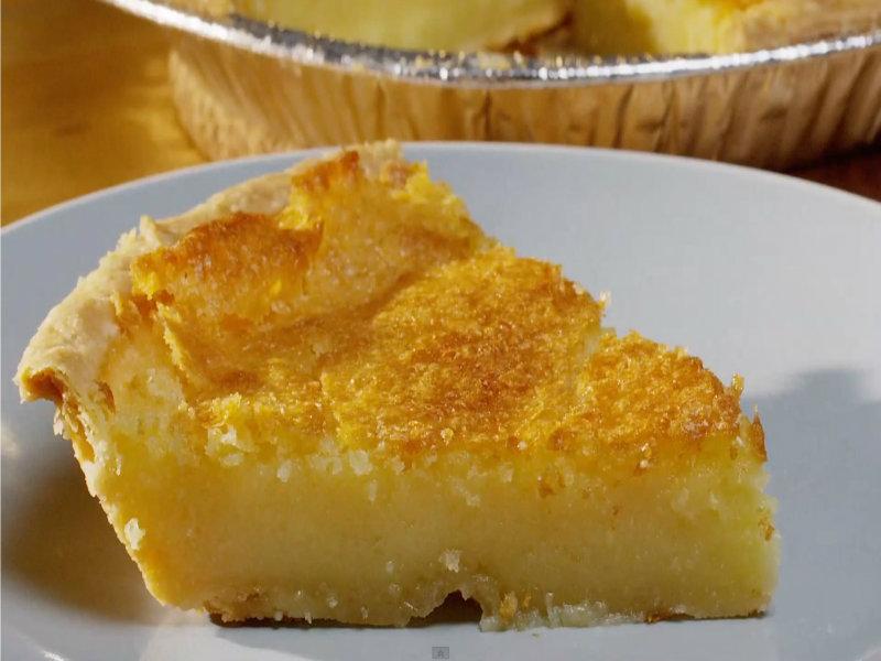 Chess Pie Recipe — Dishmaps