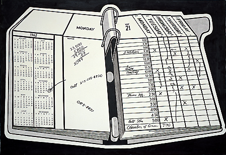 Desk Calendar, 1962