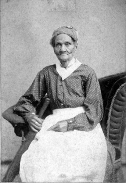 Hannah Jackson, one of President Jackson's slaves