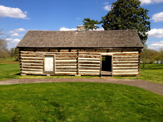 A Slave Cabin at The Hermitage