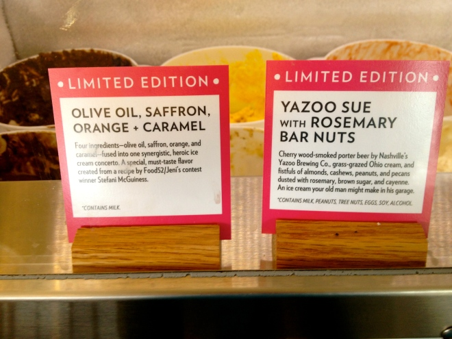 Yazoo Sue With Rosemary Pine Nuts has rave reviews.