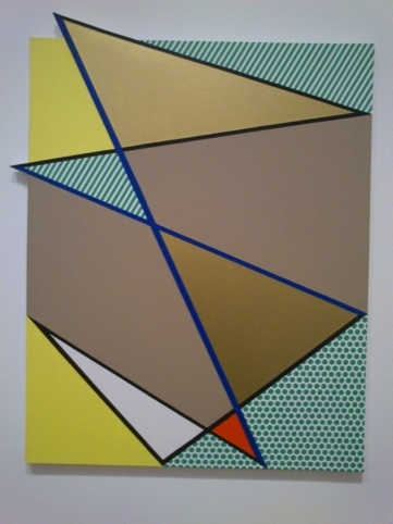 Imperfect Painting (Gold), 1987