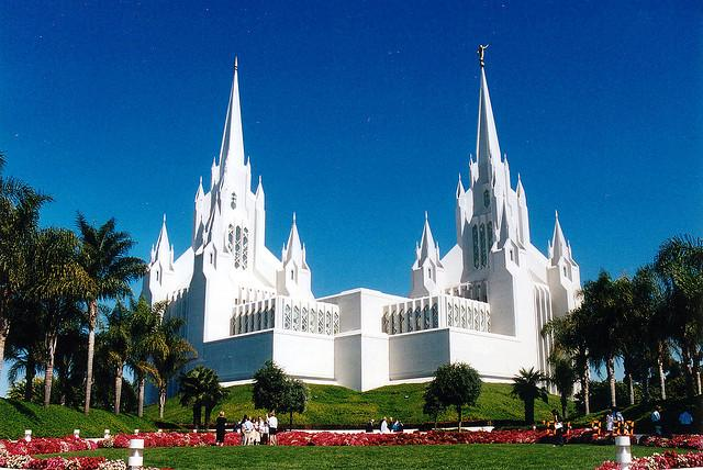 La Jolla's Mormon Temple. Yes, it looks insane.