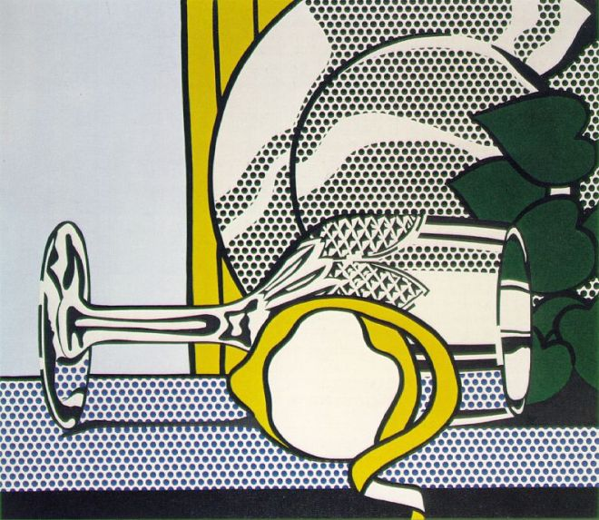 Still Life With Glass And Peeled Lemon, 1972