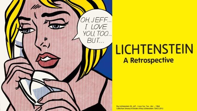 Roy Lichtenstein exhibition at Tate Modern, London