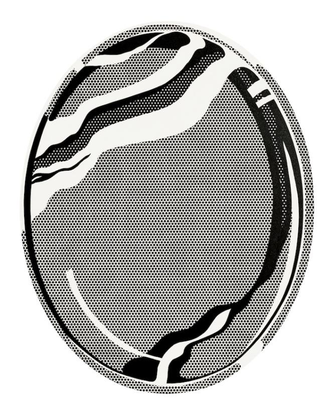 Mirror #1, (Oval 60' x 48') 1969
