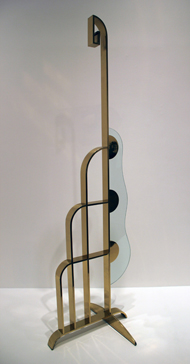 Modern Sculpture With Glass Wave, 1968