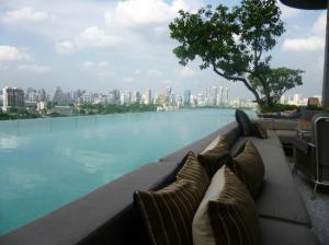 The pool at So Sofitel Bangkok