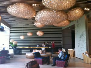 The lobby at So Sofitel Bangkok.