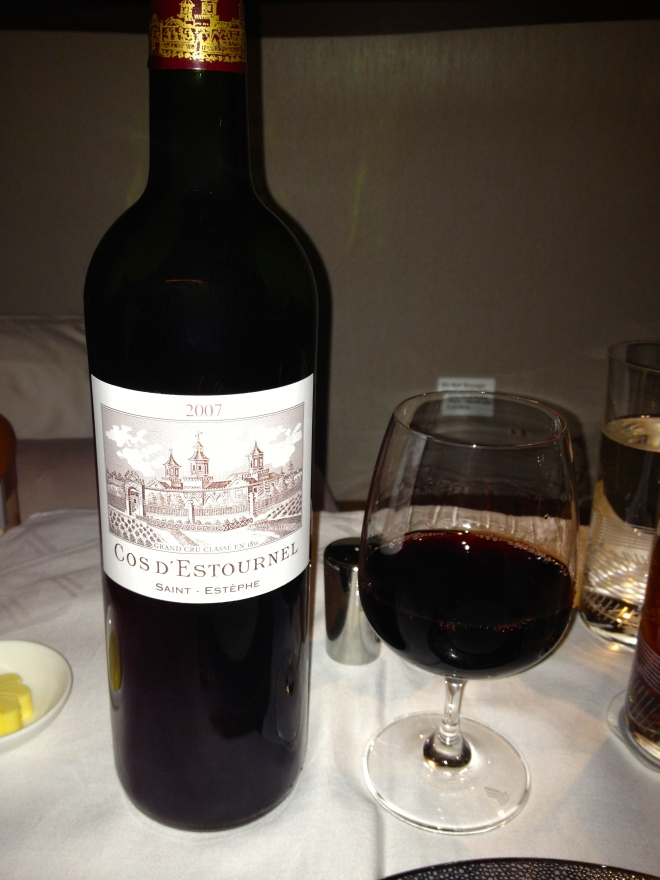 2007 Cos D'Estournel. I mean, it is a pretty nice bottle.