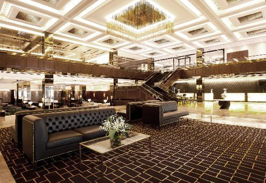 The lobby has been renovated since I was there.