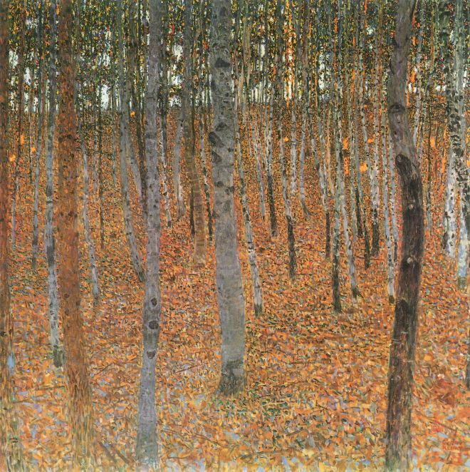 Beech Grove, Gustave Klimt