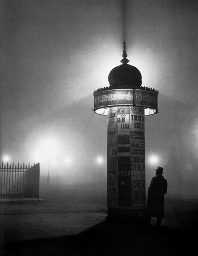 Vue Nocturne, George Brassaï, 1935