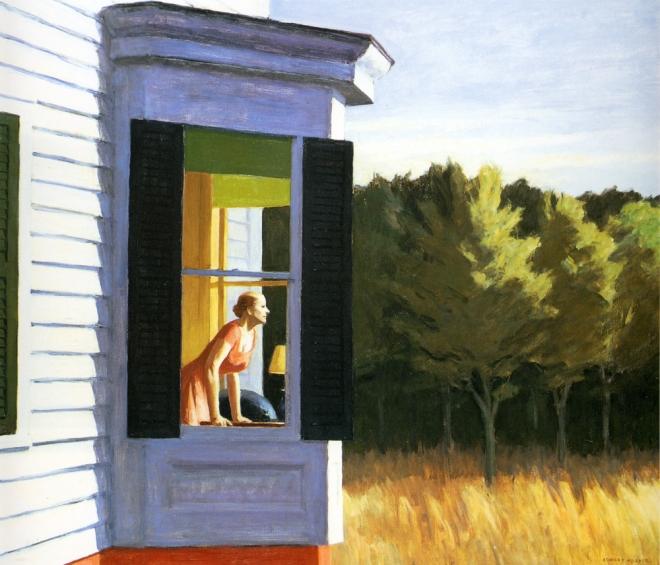 Cape Cod Morning, Edward Hopper, 1950.