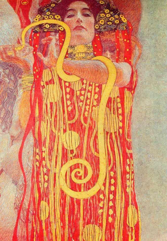 Hygeia, Gustav Klimt, 1907.