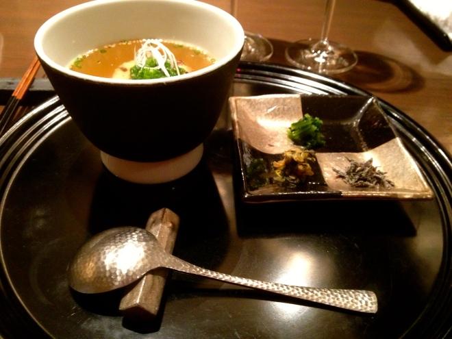 Japanese digestive soup